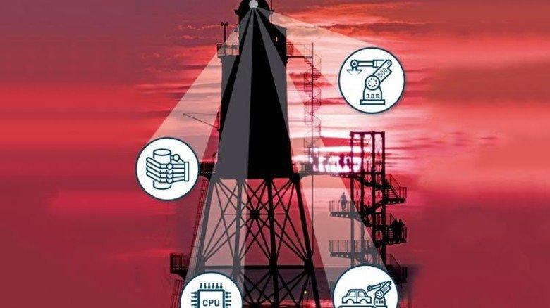 Licht ins Dunkel: So wie der Leuchtturm Obereversand zeigt die neue Digital-Studie, wo es langgehen muss. Fotos: dpa, Fotolia