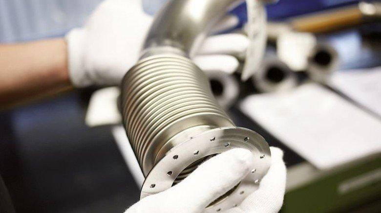 Witzenmann liefert Spezial-Teile fürs neueste Raumschiff. Foto: Werk