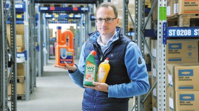 Buntes Sortiment: Lars Timpe hat den betriebswirtschaftlichen Durchblick.