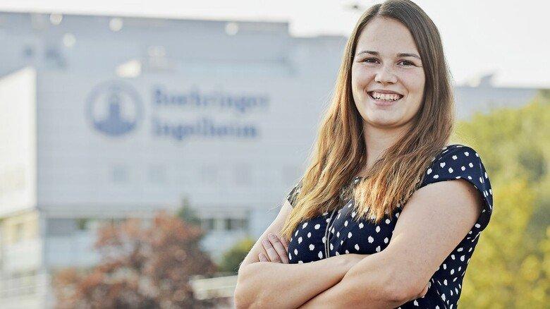 """""""Es ist wichtig, sich zu engagieren und Vereine am Leben zu halten"""", sagt Hannah Link von Boehringer Ingelheim."""