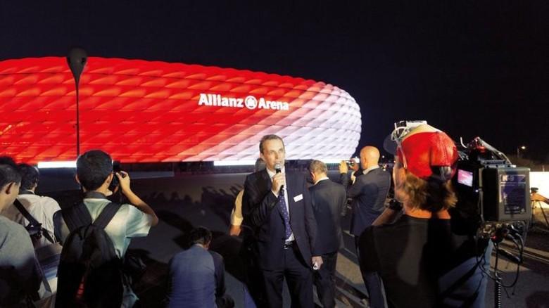 """""""Die Arena musste im laufenden Spielbetrieb umgerüstet werden."""" Andreas Rindt, Projektleiter bei Philips. Foto: Werk"""