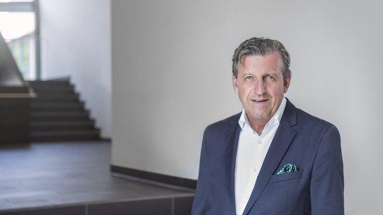 Dr. Stefan Wolf, Vorsitzender des Arbeitgeberverbands Südwestmetall.