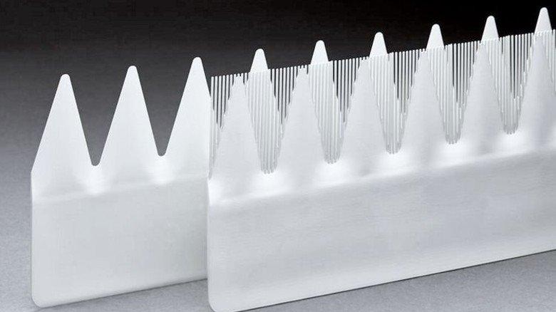 Zackig: Eine neuartige Kamm-Struktur an den Rotorblättern … Foto: Werk