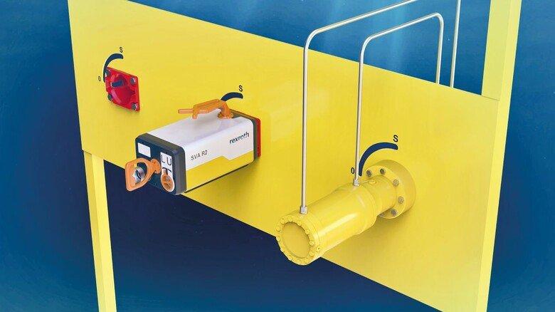 Neu: Die elektrische Lösung (Mitte) mit der mechanischen und hydraulischen im Vergleich.