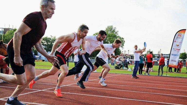 Los geht's: Beim Deutschen Sportabzeichen sind jedes Jahr Hunderttausende Hobbyathleten am Start.