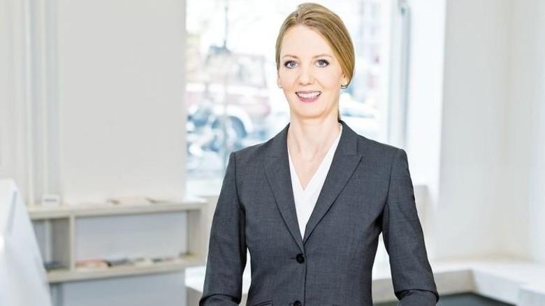 Starker Auftritt: Nora Schmidt-Kesseler, Hauptgeschäftsführerin Nordostchemie. Foto: Hoffotografen