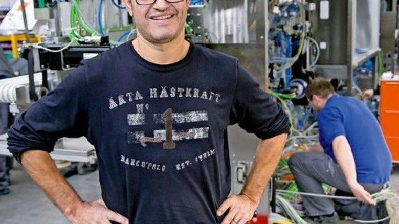 … und sein Job bei Uhlmann. Foto: Mierendorf