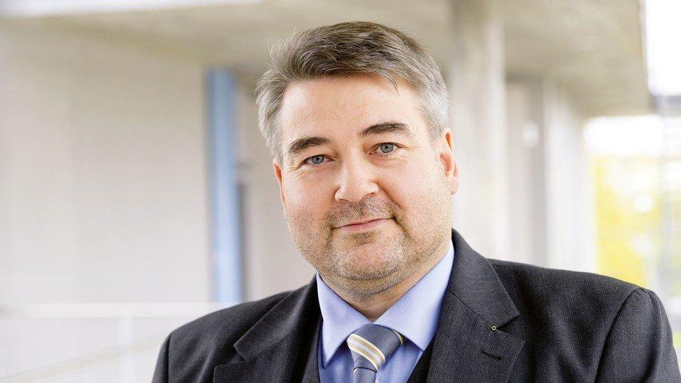 Thomas Fischer forscht am Fraunhofer-Institut in Stuttgart.
