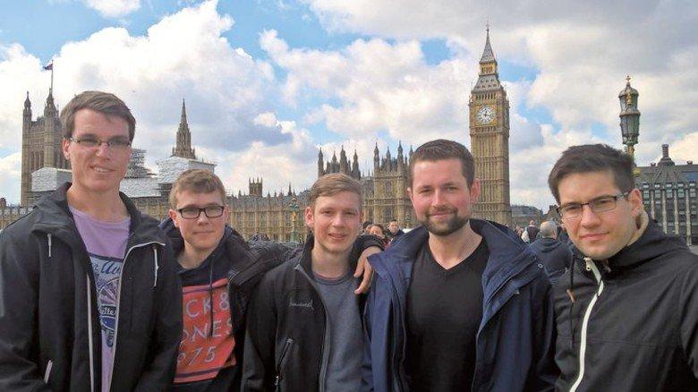 Danach ging es gemeinsam nach London. Foto: Nordmetall