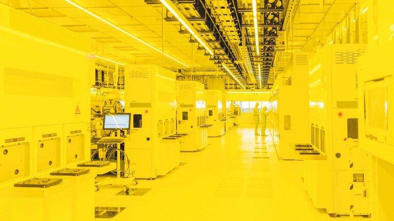 Hochmodernes Werk: Bosch fertigt in Dresden bald Mikroelektronik für die Autobranche.