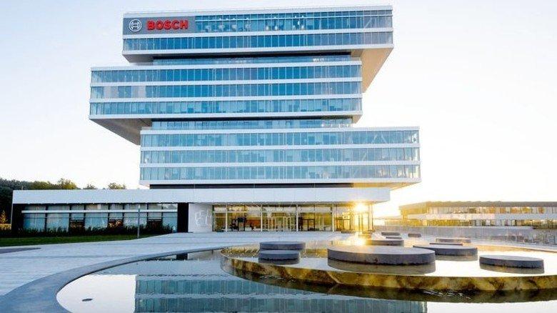 Futuristisch: Das neue Forschungszentrum von Bosch in Stuttgart. Foto: Bosch