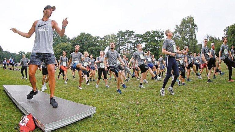 """Volles Programm: Die Firma Still nahm mit über 40 Teams am """"Mopo Team-Staffellauf"""" teil. Foto: Still"""