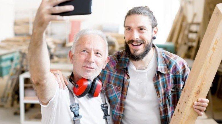 """Gut dabei: """"Best Ager"""" stehen jüngeren Kollegen in nichts nach. Foto: Getty"""
