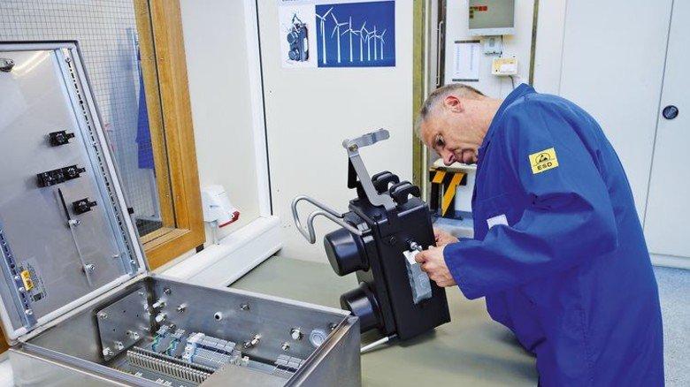 Spannender Job: Thode arbeitet im Bereich für akustische Sensoren. Foto: Privat