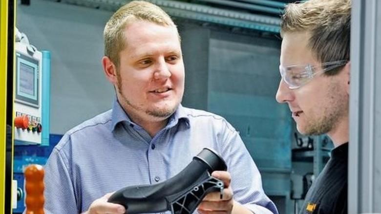 Haben einen neuen Arbeitgeber: Tobias Kühn und Kay Kunath (von links). Foto: Sturm