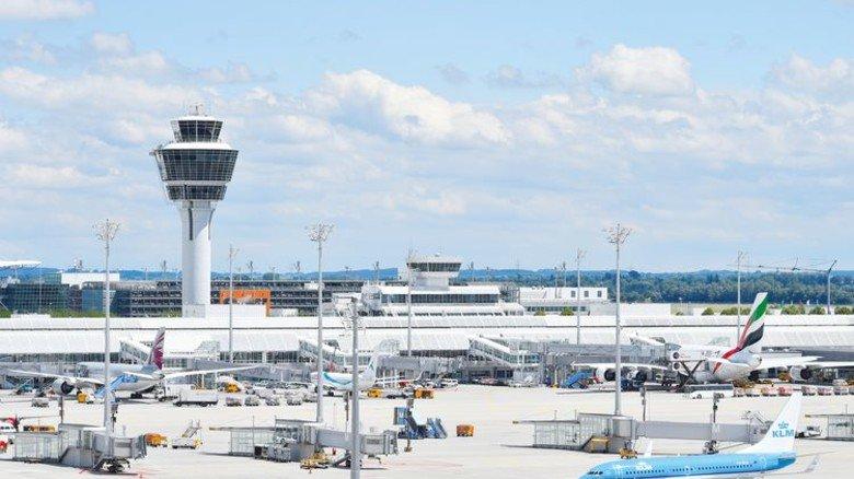 Rund 45 Millionen Passagiere hoben 2017 am Flughafen München ab. Damit alles reibungslos läuft, ist jede Menge Technik im Einsatz. Foto: Flughafen München