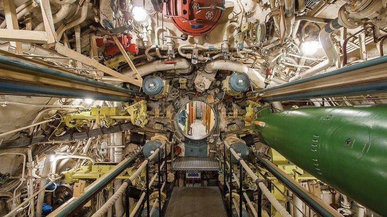 Beklemmend eng: Bis zu 84 Männer zählte die Besatzung des 1976 gebauten U-Boots.