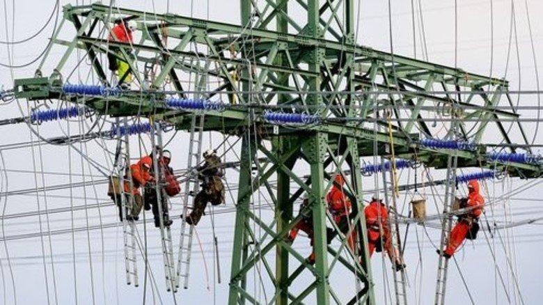 Es kann losgehen: In Sachsen-Anhalt ist die Leitung nun fit für Grünstrom. Foto: dpa