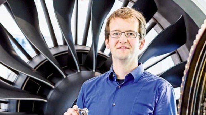 Für Flugzeuge: Thomas Göhler beschäftigt sich mit Computermodellen. Foto: Schulz