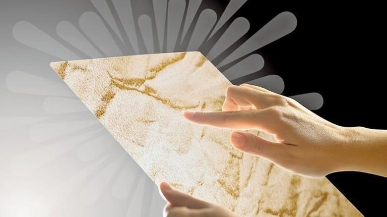 Intelligentes Oberflächenmaterial: Acella Hylite ermöglicht spezielle Lichteffekte. Foto: Werk