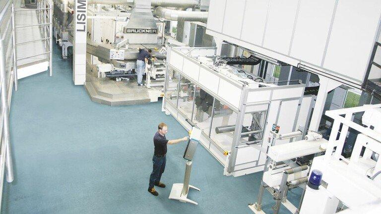 Pilotanlage: Am Stammsitz von Brückner in Siegsdorf werden neue Rezepturen und Verfahren ausprobiert.