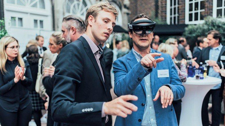 Hightech:  Unterwegs im virtuellen Raum.