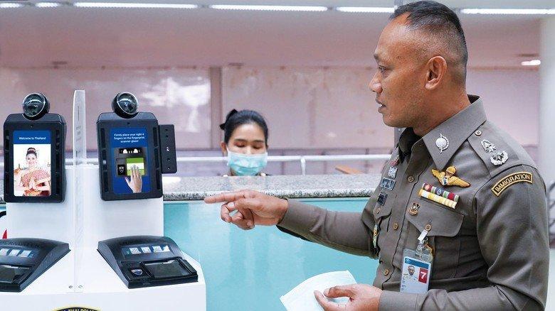 Einsatz in Asien: Die Technik der Hamburger wurde unter anderem am Flughafen von Bangkok installiert.