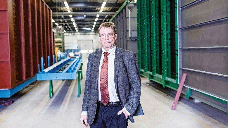Familienunternehmer aus Überzeugung: Rüdiger Margraf führt LUEHR FILTER bereits seit 22 Jahren.