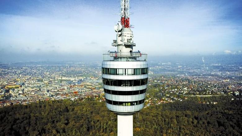 Stuttgart: Faszinierender Blick auf die Stadt. Foto: Stuttgart-Marketing
