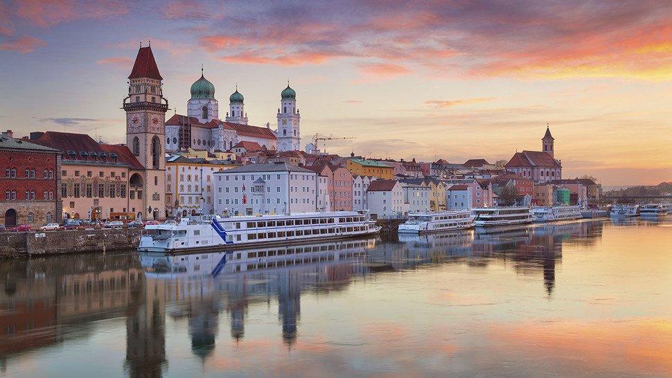 Passau: Blick auf die Altstadt.