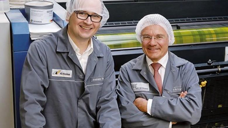 Hygiene: Ist auch für Andreas Knur (links) und Volker Artmann Pflicht. Foto: Scheffler
