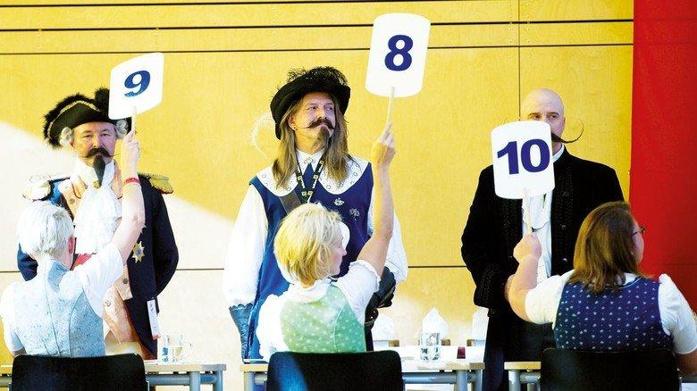 Prämierung der Besten: Beim internationalen Bartträger-Wettstreit (hier im österreichischen Leogang) sieht man ausgefallene  Kreationen.