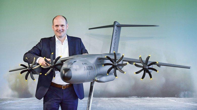 Standortleiter: Jens Franzeck ist seit vier Jahren für den A400M-Bereich im Bremer Airbus-Werk verantwortlich.