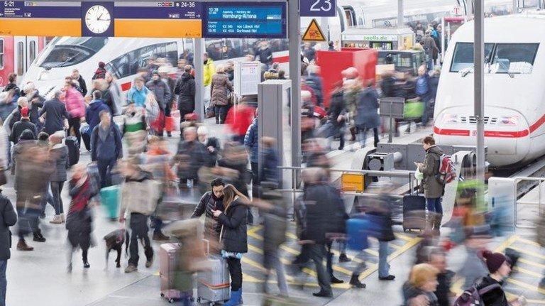 Brennpunkt: Der Hauptbahnhof in München. Er hat Sicherheitstechnik von der schwäbischen Firma Telent. Foto: dpa
