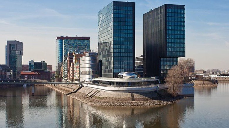 Stylish: Dormakaba stattete das Hyatt Regency in Düsseldorf mit Türtechnik aus. Foto: Werk