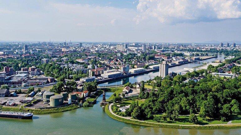 Ökologischer Fußabdruck: Die BASF geht in der Metropolregion Rhein-Neckar voran.