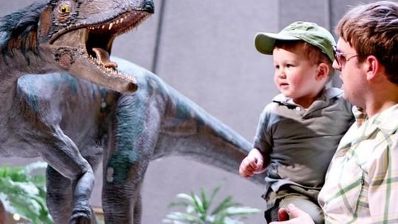Fünf Meter lang: Der Dinosaurier Liliensternus war ein Fleischfresser. Foto: Gritzka