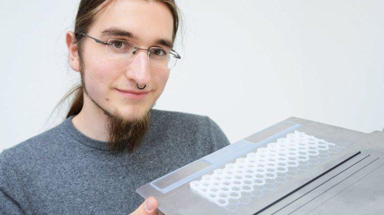 Gedrucktes Silikon: Die junge Technik bietet viele Möglichkeiten, findet Martin Meltke. Foto: Sturm