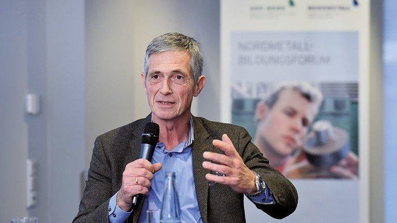 Plädiert für eine kluge Bildungspolitik in Deutschland: Lutz Oelsner, Aufsichtsrat der Firma Gestra aus Bremen. Foto: Christian Augustin