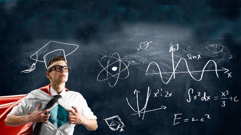 Bildung bringt's: So stark wie Superman muss man ja nicht gleich werden. Aber wer weiß?