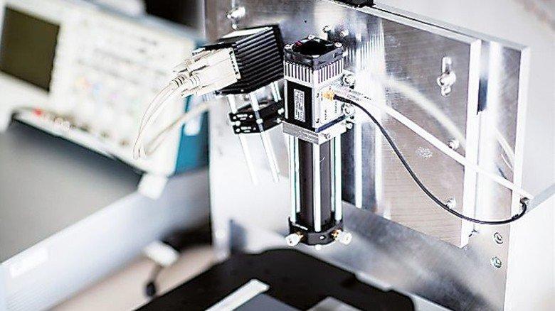 Revolution aus Koblenz: Diese Erfindung erfasst Fingerabdrücke per Laser. Foto: SCANOVIS