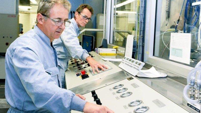 Ein gutes Team: Hans-Peter Hofmann (vorne) und Waldemar Nickel. Foto: Wirtz