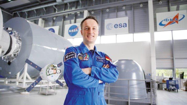 Geschafft: Von rund 8.500 Bewerbern für das Astronauten-Corps war Matthias Maurer unter den besten 10. Foto: Grothues