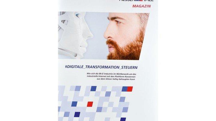 Steht als Download bereit: Das neue Magazin von Hessenmetall. Foto: Scheffler