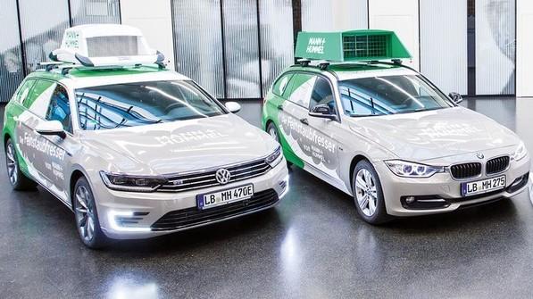 Die Testfahrzeuge von Mann+Hummel sind mit drei Filtern ausgestattet. Foto: Werk