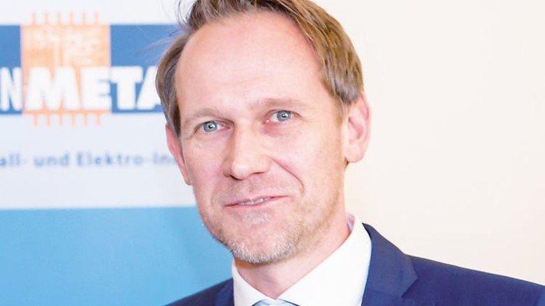 Torsten Muscharski, Verhandlungsführer des Arbeitgeberverbands NiedersachsenMetall. Foto: Joos