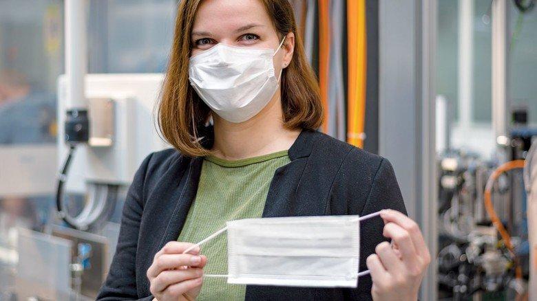 Atemschutzmasken: Bosch ist in die Produktion eingestiegen, wie viele andere Industrie-Unternehmen.