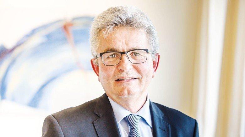 """""""Wir brauchen eine geschlossene EU, die sich ihrer Werte und Ziele bewusst ist"""", fordert Bertram Brossardt, Hauptgeschäftsführer der Vereinigung der Bayerischen Wirtschaft in München."""