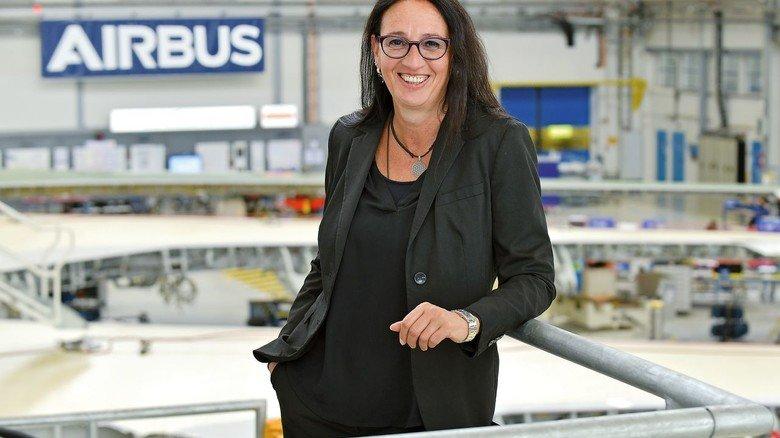 M+E-Karriere: Imke Langhorst arbeitet seit knapp 20 Jahren bei Airbus und leitet seit April 2019 den Standort Bremen.