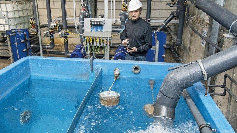 Alles im Fluss: Für MPG-Geschäftsführer Andreas Gahl ist der Kühlkreislauf ein großes Thema – auch der wurde zuletzt optimiert.